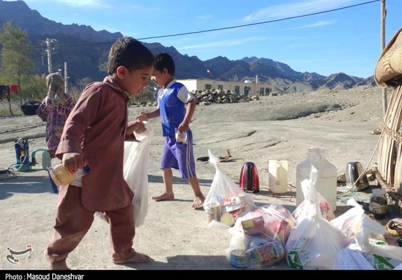 امدادرسانی مستمر سپاه به روستاهای بشاگرد / دسترسی به 20 روستا هنوز امکانپذیر نیست + تصاویر