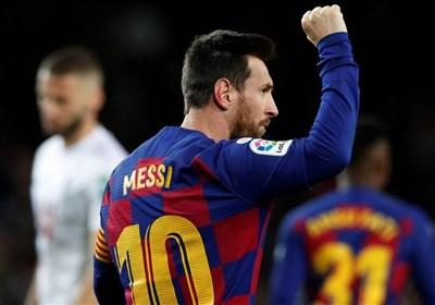 لالیگا| بارسلونا با گلزنی مسی صدر جدول را از رئال مادرید پس گرفت