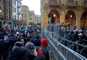 لبنان|دومین شب ناآرام بیروت+تصاویر