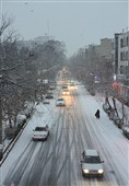 برف و باران در جادههای 13 استان