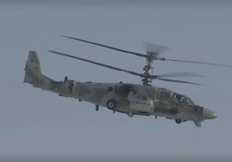 """حرکات پیچیده بالگردهای مدرن """"تمساح"""" روسیه+ فیلم"""