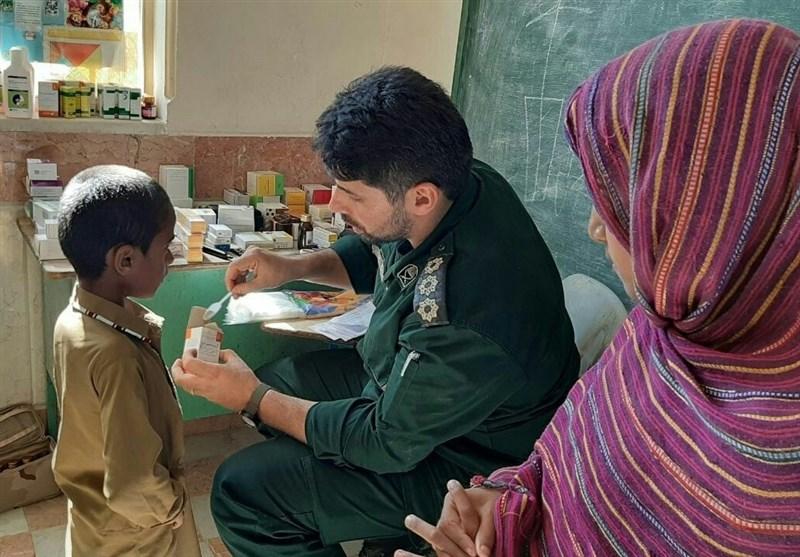 تیم پزشکی تیپ نیروی مخصوص سپاه به مناطق سیلزده سیستان و بلوچستان اعزام شد