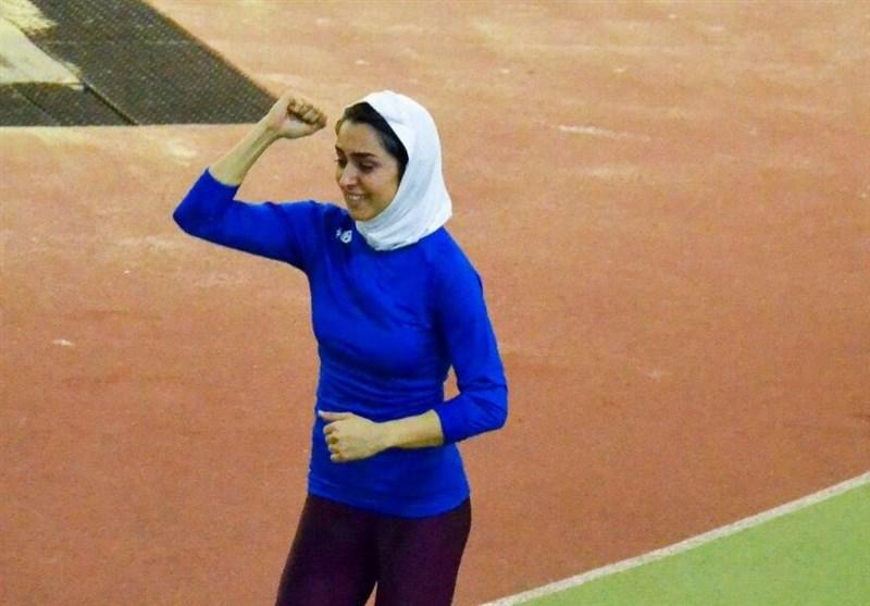 نایب قهرمانی و رکوردشکنی فرزانه فصیحی در تورنمنت دوومیدانی میترویکا