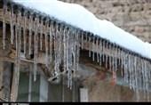 «قندیلهای یخی» در ییلاق اشکور گیلان به روایت تصویر