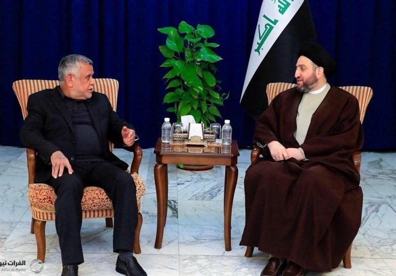 الحکیم یشدد بلقاء العامری على اختیار شخصیة مستقلة لرئاسة الحکومة
