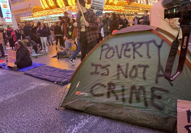 Arrests Made during Protests against Las Vegas Homeless Ordinances (+Video)