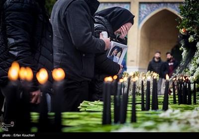 یادبود شهدای دانشگاه شریف در سقوط هواپیمای اوکراینی
