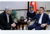 Iranian VP, Turkish Officials Discuss Closer Scientific Cooperation