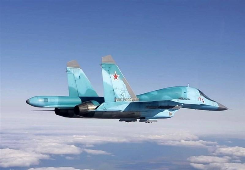 """جنگنده """"سوخو-34"""" روسیه با قابلیت شناسایی اهداف نامرئی+ فیلم"""