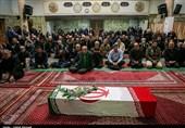 پیکر جانباز 70 درصد دوران دفاع مقدس در تبریز تشییع شد