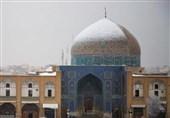 ماجرای ادامه دار مرمت گنبد مسجد شیخ لطفالله اصفهان؛ برفی که روی گنبد ننشست