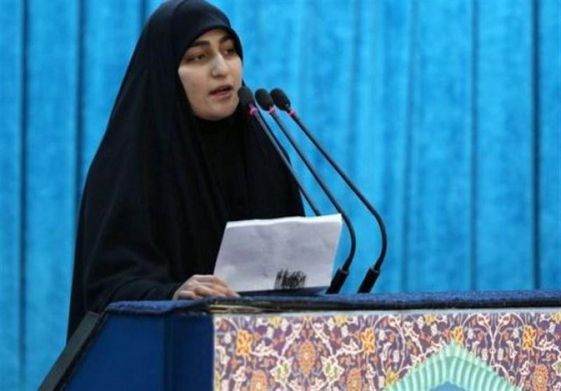 دختر شهید سلیمانی: مجاهدان جنوب لبنان جرأت ما را بیشتر کردند