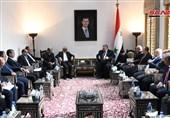 رئیس مجلس الشعب السوری یصف العلاقات القائمة بین بلاده وایران بالتاریخیة والمتجذرة