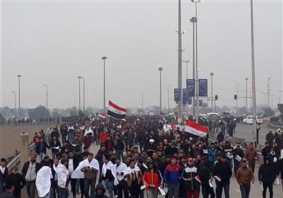 جمعه استقلال و حاکمیت عراق|آغاز تظاهرات میلیونی ضد اشغالگری/ مردم «کفن پوش»: آمریکا برو بیرون+فیلم و تصاویر