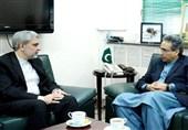 ایرانی سفیرسے بابرندیم کی ملاقات، تیل کے شعبے میں تعاون پر اتفاق