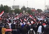 جمعه استقلال و حاکمیت عراق|تظاهرات میلیونی علیه آمریکا/ مردم: خواسته اصلی ما اخراج نظامیان اشغالگر است+فیلم و تصاویر
