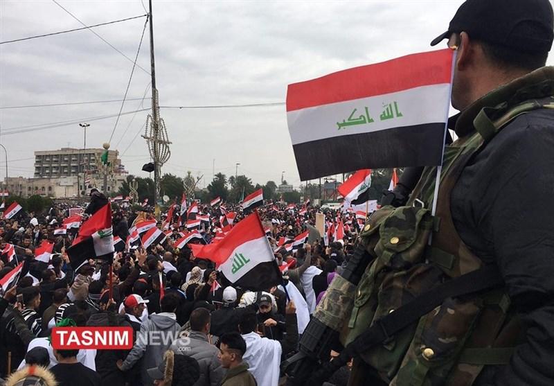 حاشیههای تظاهرات امروز عراق به روایت تصاویر