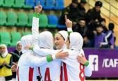 تورنمنت کافا| جشنواره گل تیم فوتسال زیر 20 سال دختران ایران مقابل تاجیکستان