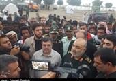 سردار سلامی: باید نقاط جدیدی برای سکونت سیل زدگان جاسک در نظر گرفت