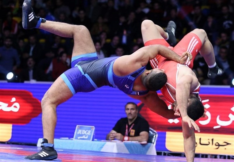 Iranian Greco-Roman Team Arrives in India for Asian Championships