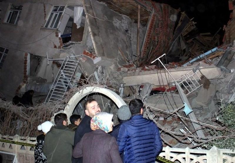 Iran's President, FM Condole with Turkey over Quake Casualties