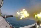 پایان رزمایش نیروهای نظامی ناوگان دریای خزر روسیه