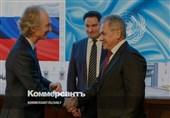 مذاکرات نماینده سازمان ملل در امور سوریه با وزرای خارجه و دفاع روسیه در مسکو
