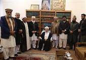 ملی یکجہتی کونسل کے وفد کی حضرت آیۃ العظمیٰ الحاج ناصر مکارم شیرازی سے ملاقات