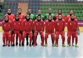 تورنمنت کافا  جشنواره گل دختران ایران مقابل ترکمنستان