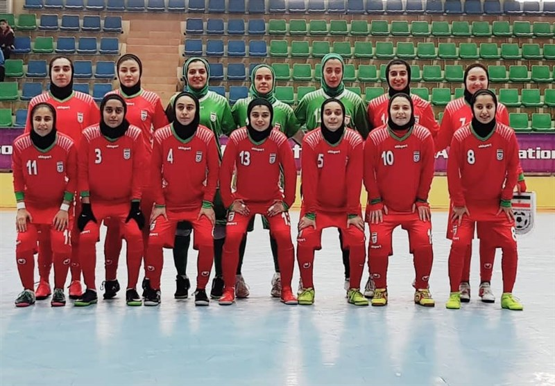 Iran Beats Uzbekistan at CAFA U-19 Girl's Futsal C'ship