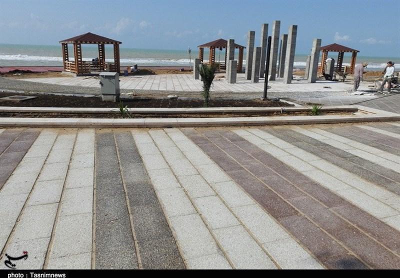 طرح گردشگری لیان بوشهر، بزرگترین و زیباترین پارک خلیج فارس در دهه فجر افتتاح میشود + تصاویر