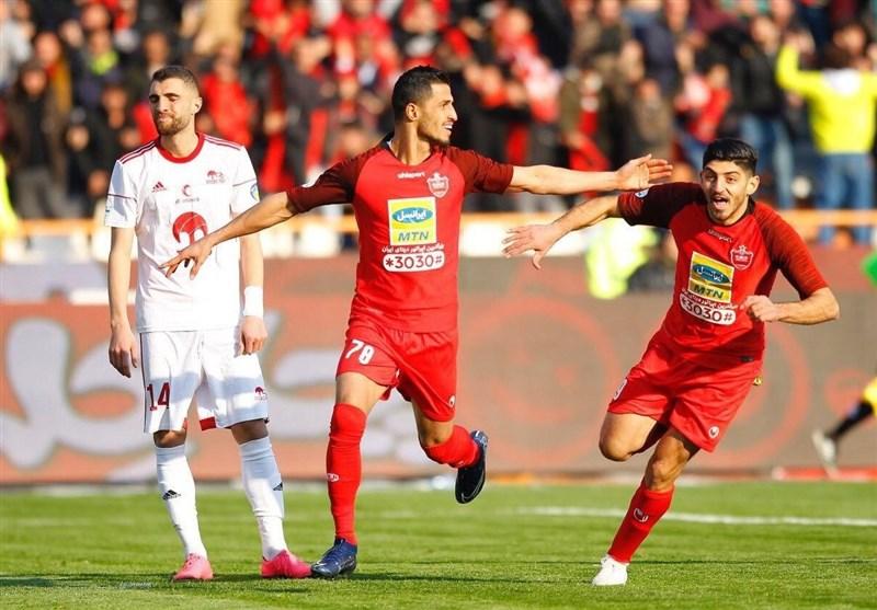 لیگ برتر فوتبال| پرسپولیس با برتری مقابل تراکتور راهی رختکن شد