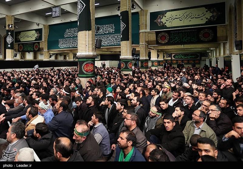 اولین شب عزاداری فاطمیه 1441 در حسینیه امام خمینی(ره)