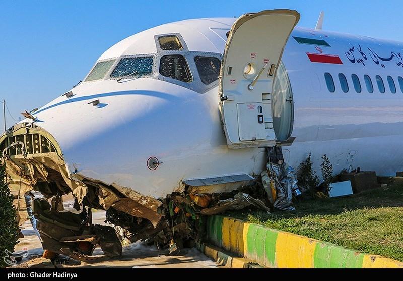 گزارش اولیه سانحه هواپیمای بوئینگ کاسپین در ماهشهر منتشر شد