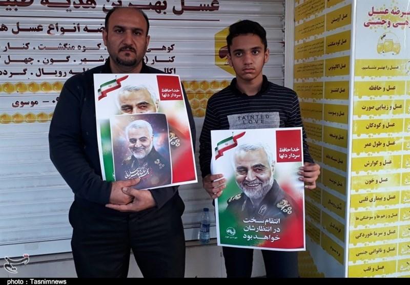 اربعین شهید قاسم سلیمانی و شهدای مقاومت در اهواز برگزار میشود