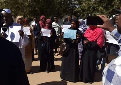 Khartoum protests in front of UAE's embassy