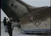 فیلم سقوط هواپیمای نظامی آمریکا در افغانستان