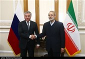 Iran, Russia Offering Successful Model of Regional Partnership, Larijani Says