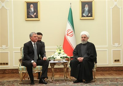 Rouhani: Iran, Russia Boosting Ties against US' Will