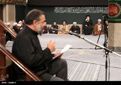 مداحی محمود کریمی در حسینیه امام خمینی (ره)