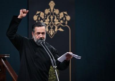 """مداحی """"محمود کریمی"""" در حسینیه امام خمینی (ره)"""