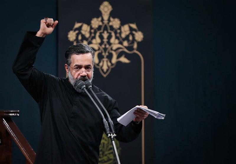 محمود کریمی سروده جدید حاج ولی الله کلامی را خواند + فیلم