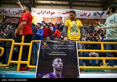 دیدار تیمهای بسکتبال شهرداری گرگان و مهرام تهران - گرگان