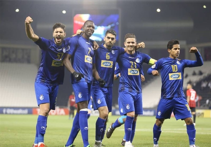 Esteghlal Downs Qatar's Al Rayyan at AFC Champions League Play-off