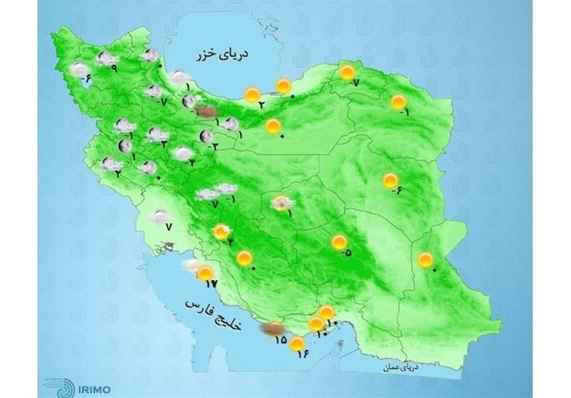 هوای سرد تا اواسط هفته در استان اردبیل ادامه دارد