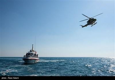مانور امداد و نجات دریایی - جزیره خارک