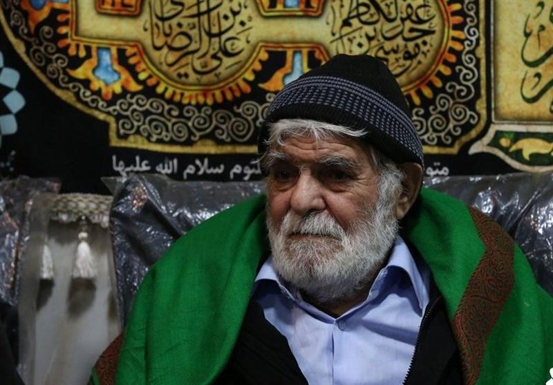 شعرخوانی استاد سید رضا مؤید در رثای حضرت فاطمه(س)+فیلم