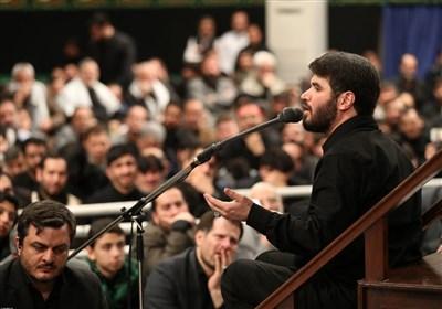 مداحی میثم مطیعی در حسینیه امام خمینی (ره)
