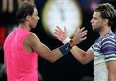 صعود تیم به نیمهنهایی تنیس آزاد استرالیا با شکست نادال