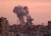 حمله جدید جنگندههای صهیونیستی به جنوب نوار غزه
